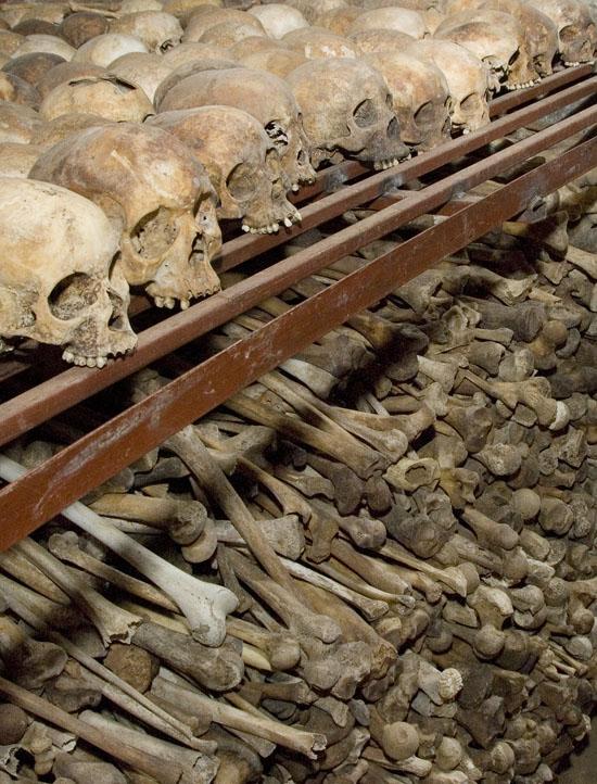 Nyamata Church - Mass Grave_02,  Rwanda.  October 2007.