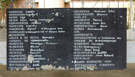Nyamata Catholic Church - Genocide Memorial, October 2007.