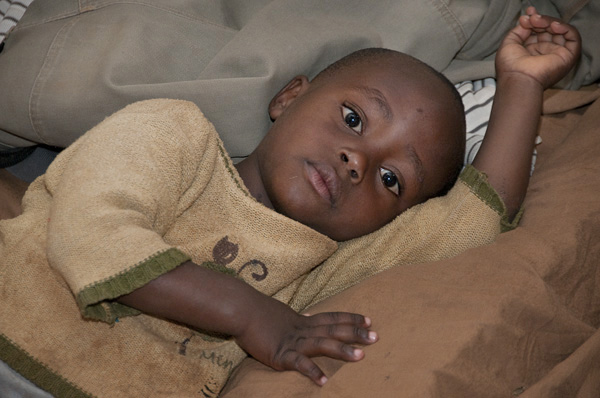 Shelter and food are provided by for orphans by the non-profit, OVC-Rwanda, in Kigali.